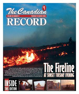 Primary view of object titled 'The Canadian Record (Canadian, Tex.), Vol. 116, No. 11, Ed. 1 Thursday, March 16, 2006'.