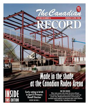 Primary view of object titled 'The Canadian Record (Canadian, Tex.), Vol. 116, No. 14, Ed. 1 Thursday, April 6, 2006'.