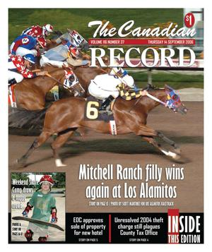 The Canadian Record (Canadian, Tex.), Vol. 116, No. 37, Ed. 1 Thursday, September 14, 2006