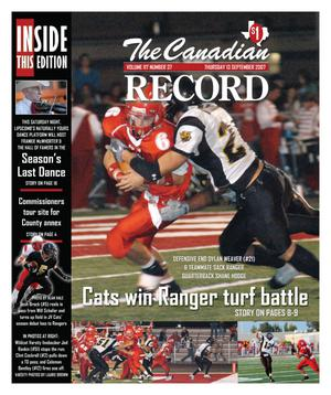 The Canadian Record (Canadian, Tex.), Vol. 117, No. 37, Ed. 1 Thursday, September 13, 2007