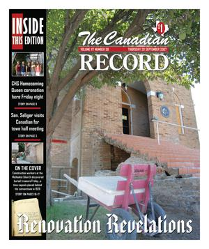 The Canadian Record (Canadian, Tex.), Vol. 117, No. 38, Ed. 1 Thursday, September 20, 2007