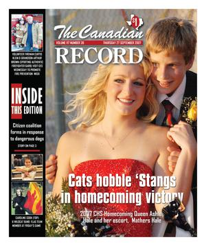 The Canadian Record (Canadian, Tex.), Vol. 117, No. 39, Ed. 1 Thursday, September 27, 2007
