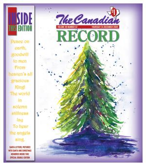 Primary view of object titled 'The Canadian Record (Canadian, Tex.), Vol. 119, No. 52, Ed. 1 Thursday, December 24, 2009'.