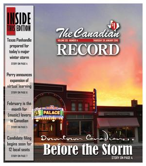 The Canadian Record (Canadian, Tex.), Vol. 120, No. 4, Ed. 1 Thursday, January 28, 2010