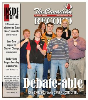 The Canadian Record (Canadian, Tex.), Vol. 120, No. 6, Ed. 1 Thursday, February 11, 2010