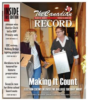 Primary view of object titled 'The Canadian Record (Canadian, Tex.), Vol. 120, No. 9, Ed. 1 Thursday, March 4, 2010'.