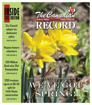 The Canadian Record (Canadian, Tex.), Vol. 120, No. 11, Ed. 1 Thursday, March 18, 2010
