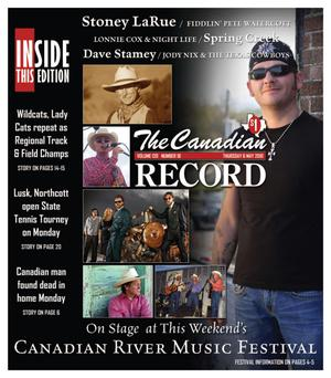 Primary view of object titled 'The Canadian Record (Canadian, Tex.), Vol. 120, No. 18, Ed. 1 Thursday, May 6, 2010'.