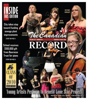 The Canadian Record (Canadian, Tex.), Vol. 120, No. 20, Ed. 1 Thursday, May 20, 2010