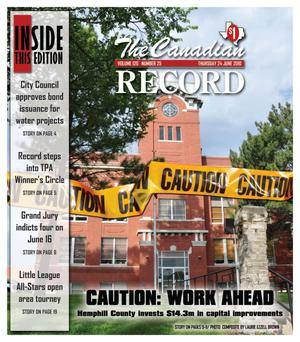 The Canadian Record (Canadian, Tex.), Vol. 120, No. 25, Ed. 1 Thursday, June 24, 2010