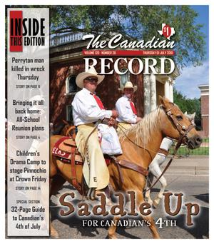 The Canadian Record (Canadian, Tex.), Vol. 120, No. 26, Ed. 1 Thursday, July 1, 2010
