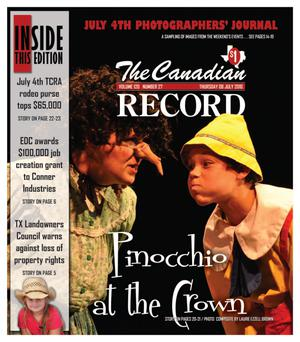 Primary view of object titled 'The Canadian Record (Canadian, Tex.), Vol. 120, No. 27, Ed. 1 Thursday, July 8, 2010'.