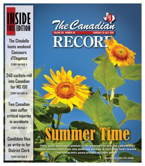 The Canadian Record (Canadian, Tex.), Vol. 120, No. 30, Ed. 1 Thursday, July 29, 2010
