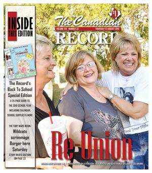 The Canadian Record (Canadian, Tex.), Vol. 120, No. 32, Ed. 1 Thursday, August 12, 2010