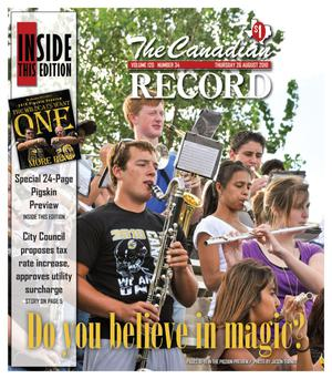 The Canadian Record (Canadian, Tex.), Vol. 120, No. 34, Ed. 1 Thursday, August 26, 2010