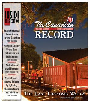 Primary view of object titled 'The Canadian Record (Canadian, Tex.), Vol. 120, No. 37, Ed. 1 Thursday, September 16, 2010'.