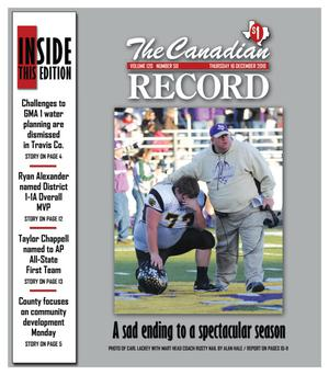 The Canadian Record (Canadian, Tex.), Vol. 120, No. 50, Ed. 1 Thursday, December 16, 2010