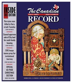 Primary view of object titled 'The Canadian Record (Canadian, Tex.), Vol. 120, No. 51, Ed. 1 Thursday, December 23, 2010'.