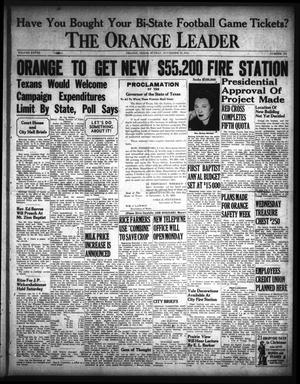 Primary view of object titled 'The Orange Leader (Orange, Tex.), Vol. 28, No. 279, Ed. 1 Sunday, November 30, 1941'.