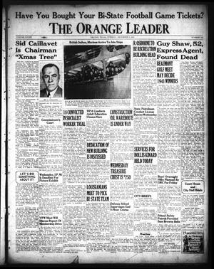 Primary view of object titled 'The Orange Leader (Orange, Tex.), Vol. 28, No. 281, Ed. 1 Tuesday, December 2, 1941'.
