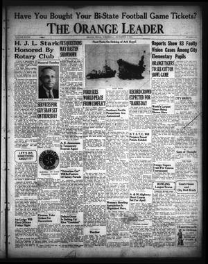 Primary view of object titled 'The Orange Leader (Orange, Tex.), Vol. 28, No. 282, Ed. 1 Wednesday, December 3, 1941'.