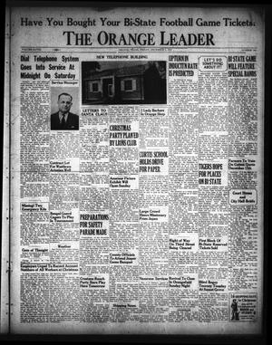 Primary view of object titled 'The Orange Leader (Orange, Tex.), Vol. 28, No. 284, Ed. 1 Friday, December 5, 1941'.
