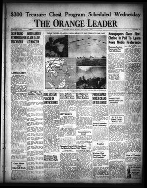 Primary view of object titled 'The Orange Leader (Orange, Tex.), Vol. 28, No. 285, Ed. 1 Sunday, December 7, 1941'.