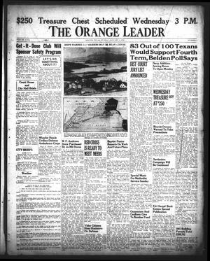 Primary view of object titled 'The Orange Leader (Orange, Tex.), Vol. 29, No. 2, Ed. 1 Sunday, January 4, 1942'.