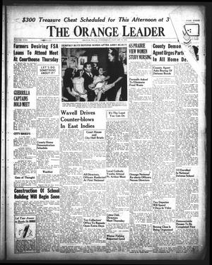 Primary view of object titled 'The Orange Leader (Orange, Tex.), Vol. 29, No. 11, Ed. 1 Wednesday, January 14, 1942'.