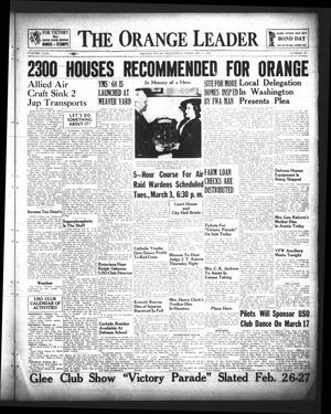 The Orange Leader (Orange, Tex.), Vol. 29, No. 48, Ed. 1 Wednesday, February 25, 1942