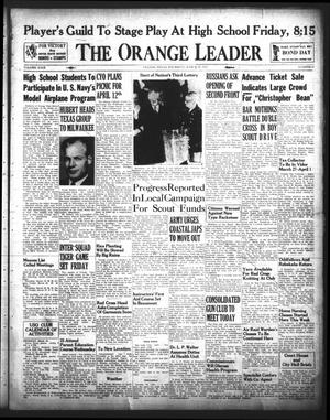 Primary view of object titled 'The Orange Leader (Orange, Tex.), Vol. 29, No. 67, Ed. 1 Thursday, March 19, 1942'.