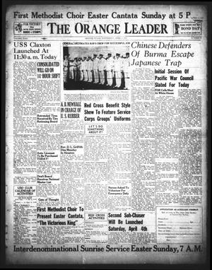 Primary view of object titled 'The Orange Leader (Orange, Tex.), Vol. 29, No. 77, Ed. 1 Wednesday, April 1, 1942'.