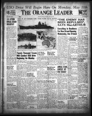 Primary view of object titled 'The Orange Leader (Orange, Tex.), Vol. 29, No. 110, Ed. 1 Sunday, May 10, 1942'.