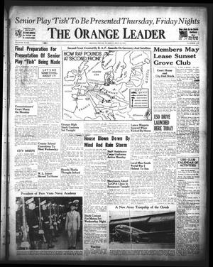 Primary view of object titled 'The Orange Leader (Orange, Tex.), Vol. 29, No. 112, Ed. 1 Tuesday, May 12, 1942'.