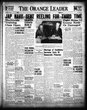 Primary view of The Orange Leader (Orange, Tex.), Vol. 29, No. 142, Ed. 1 Tuesday, June 16, 1942