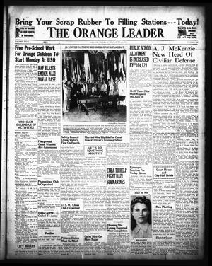Primary view of object titled 'The Orange Leader (Orange, Tex.), Vol. 29, No. 146, Ed. 1 Sunday, June 21, 1942'.
