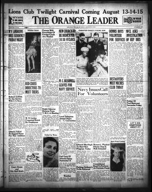 Primary view of object titled 'The Orange Leader (Orange, Tex.), Vol. 29, No. 187, Ed. 1 Sunday, August 9, 1942'.