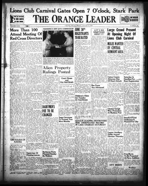 Primary view of object titled 'The Orange Leader (Orange, Tex.), Vol. 29, No. 192, Ed. 1 Friday, August 14, 1942'.