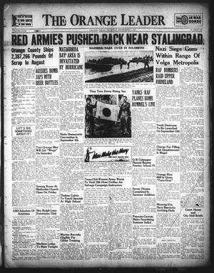 Primary view of The Orange Leader (Orange, Tex.), Vol. 29, No. 209, Ed. 1 Thursday, September 3, 1942