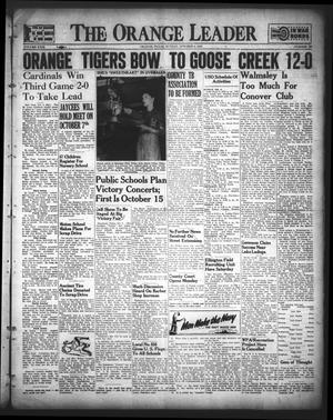 Primary view of object titled 'The Orange Leader (Orange, Tex.), Vol. 29, No. 234, Ed. 1 Sunday, October 4, 1942'.