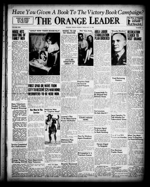 Primary view of object titled 'The Orange Leader (Orange, Tex.), Vol. 30, No. 41, Ed. 1 Sunday, February 21, 1943'.