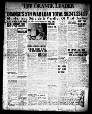 Primary view of object titled 'The Orange Leader (Orange, Tex.), Vol. 31, No. 179, Ed. 1 Tuesday, August 1, 1944'.