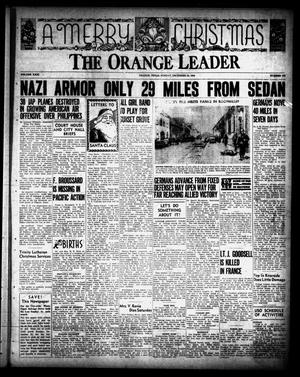Primary view of object titled 'The Orange Leader (Orange, Tex.), Vol. 31, No. 300, Ed. 1 Sunday, December 24, 1944'.