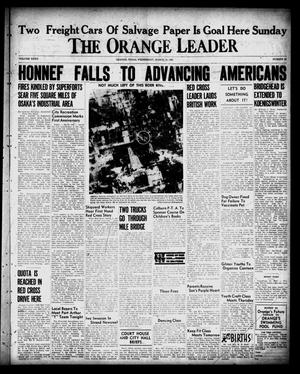 Primary view of object titled 'The Orange Leader (Orange, Tex.), Vol. 32, No. 62, Ed. 1 Wednesday, March 14, 1945'.