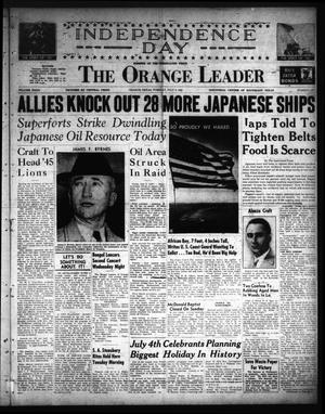 The Orange Leader (Orange, Tex.), Vol. 32, No. 157, Ed. 1 Tuesday, July 3, 1945
