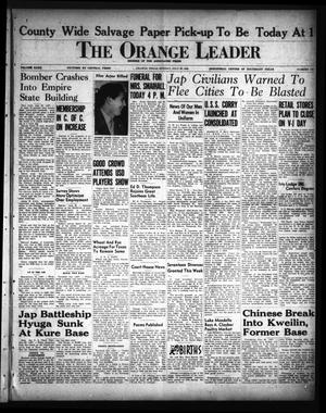 Primary view of object titled 'The Orange Leader (Orange, Tex.), Vol. 32, No. 178, Ed. 1 Sunday, July 29, 1945'.