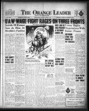 The Orange Leader (Orange, Tex.), Vol. 32, No. 285, Ed. 1 Monday, December 17, 1945