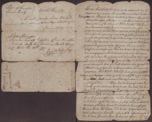 Primary view of object titled '[Land Grant Indenture Document]'.