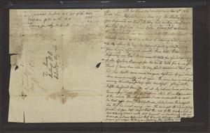Primary view of object titled '[Letter from James Stuart to L. Moore, November 4, 1832]'.