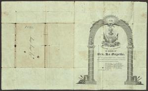 Primary view of object titled '[Invitation to a Ball in Honor of General La Fayette]'.